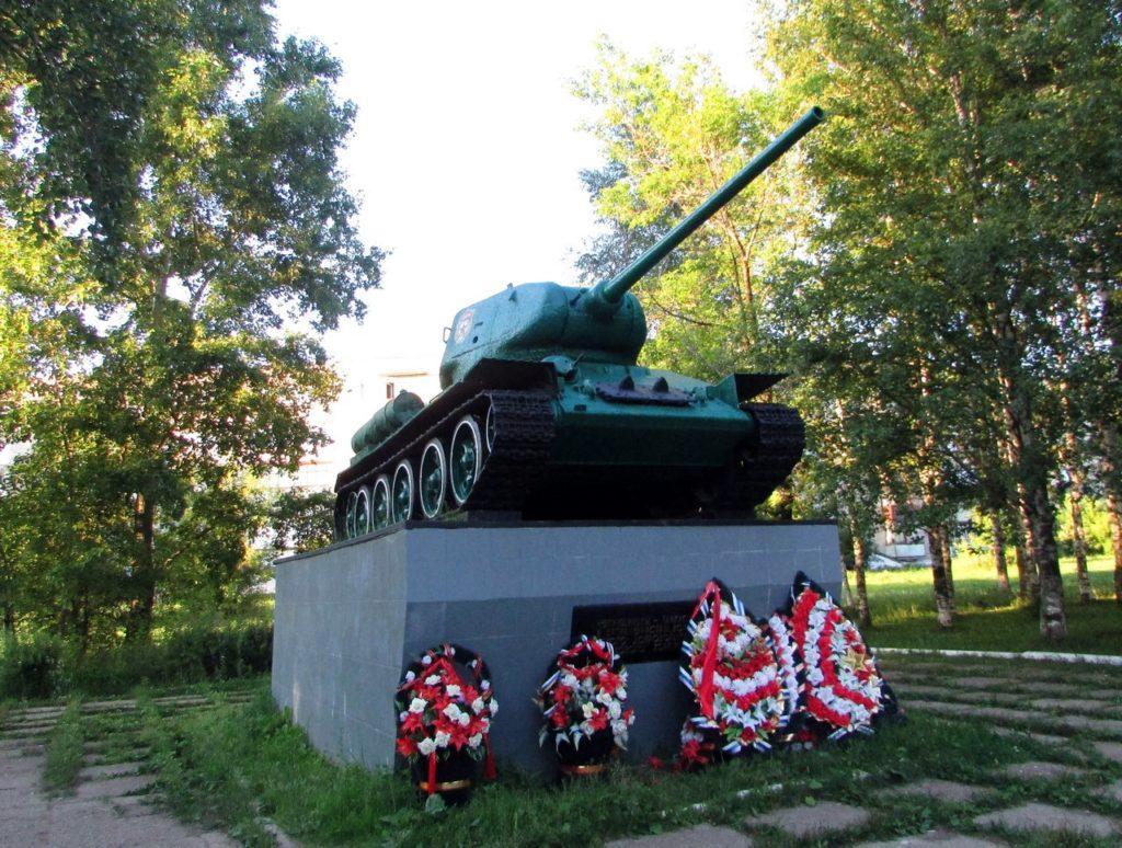 Т-34-85 в Чернушке