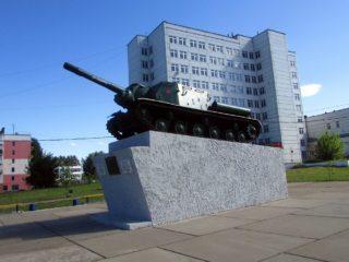 ИСУ-152 в Чайковском