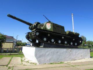 ИСУ-152 в Октябрьском