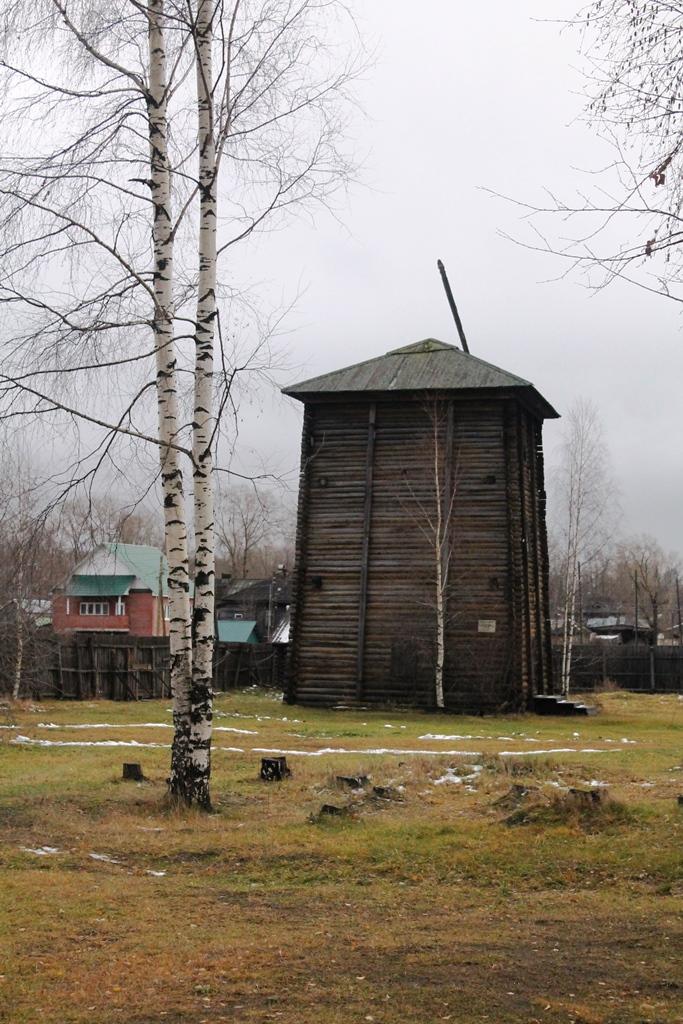 Солеподъемная башня