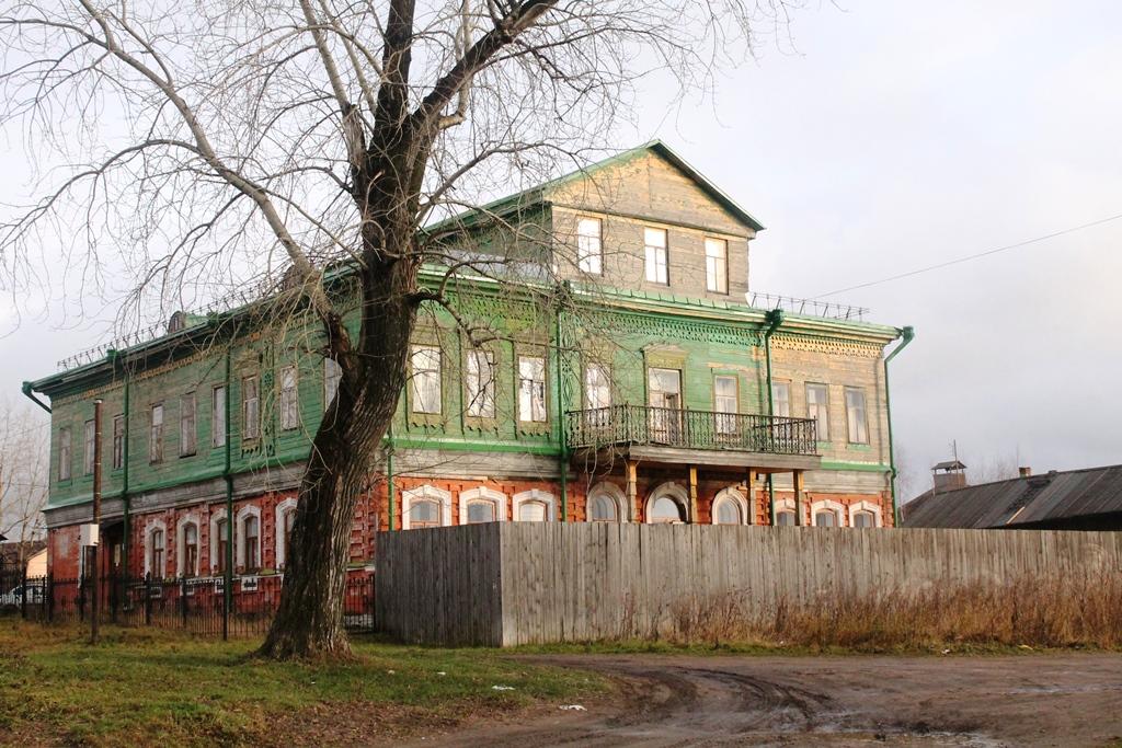 Здание музея соли в Соликамске