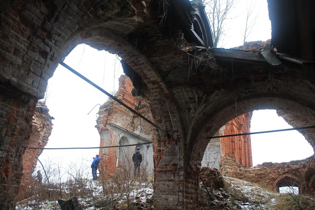 Развалины Благовещенской церкви