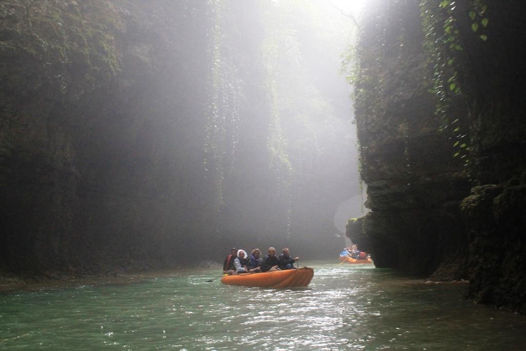 Сплав по каньону