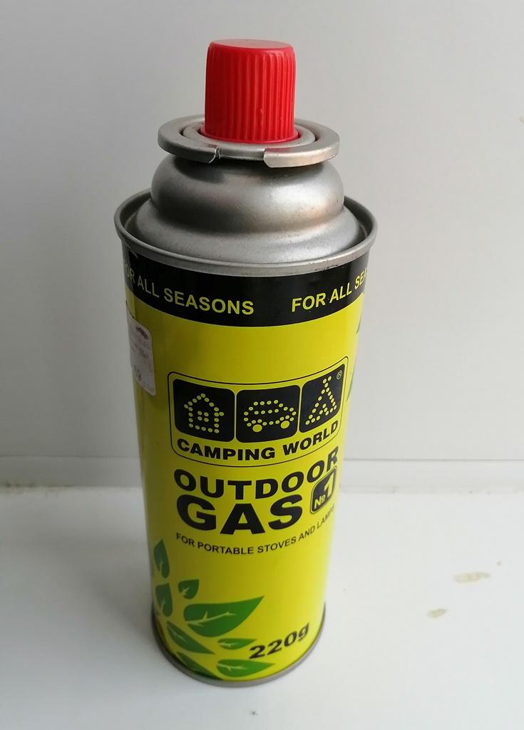Газовый баллон для газовой плитки