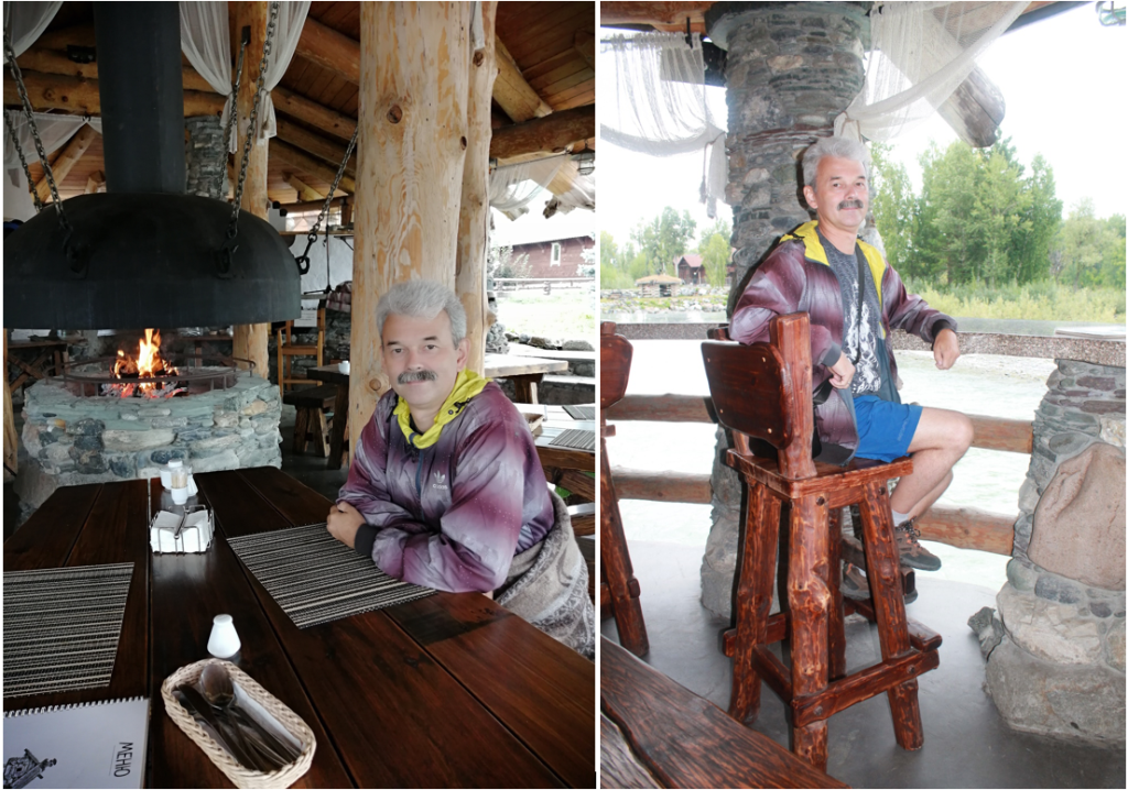 Кафе Медвежий угол в поселка Ая
