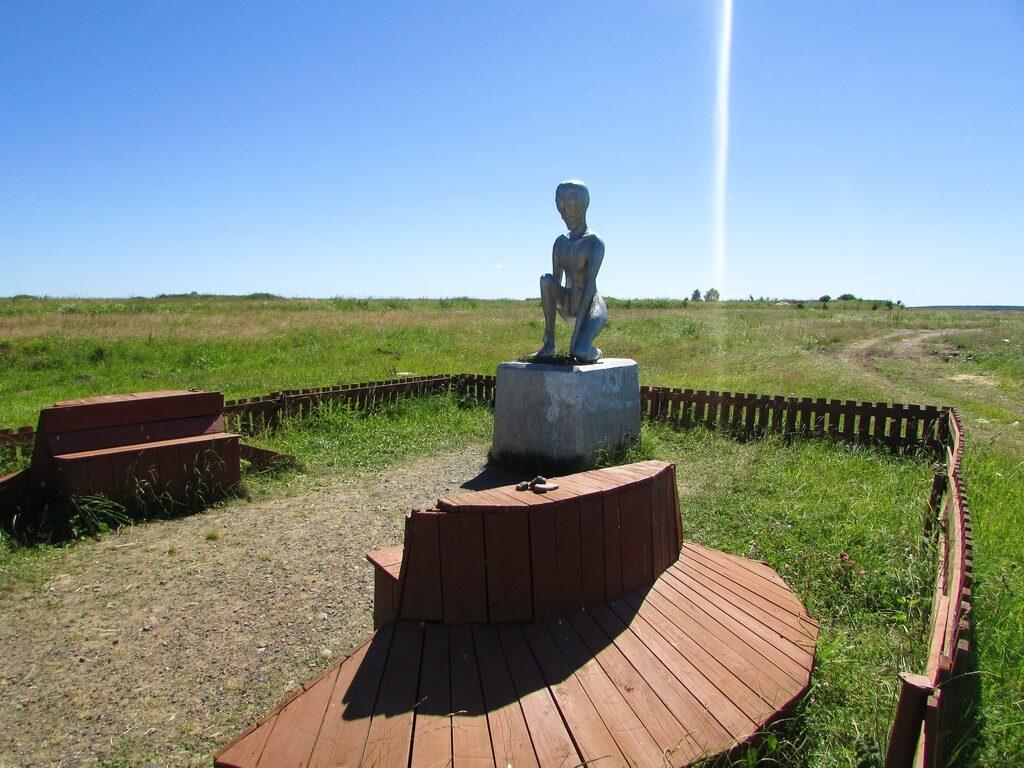 Памятник инопланетянину