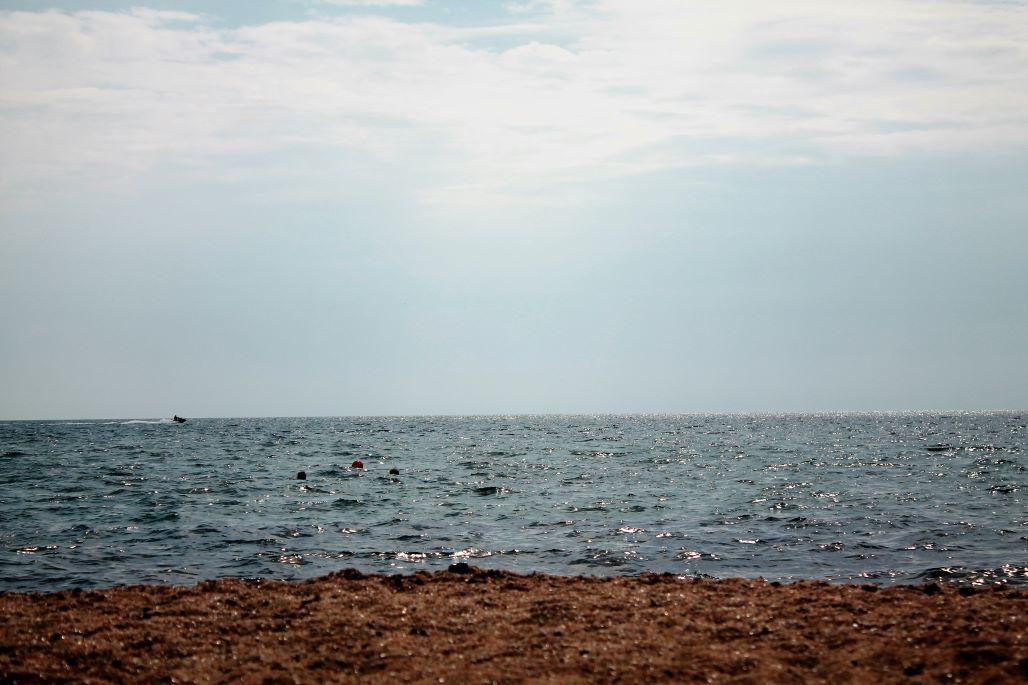 Море и пляж в Береговом